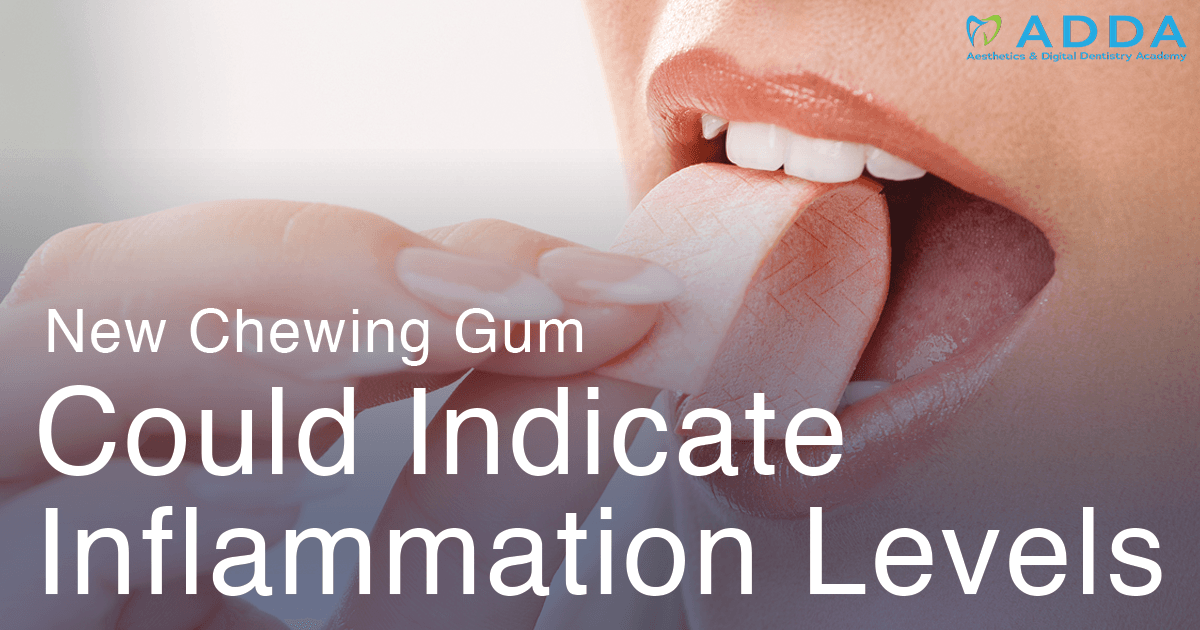 New Chewing Gum Could Indicate Inflammation Levels