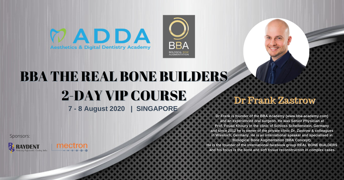 BBA The Real Bone Builders <br> 2-Days VIP Course